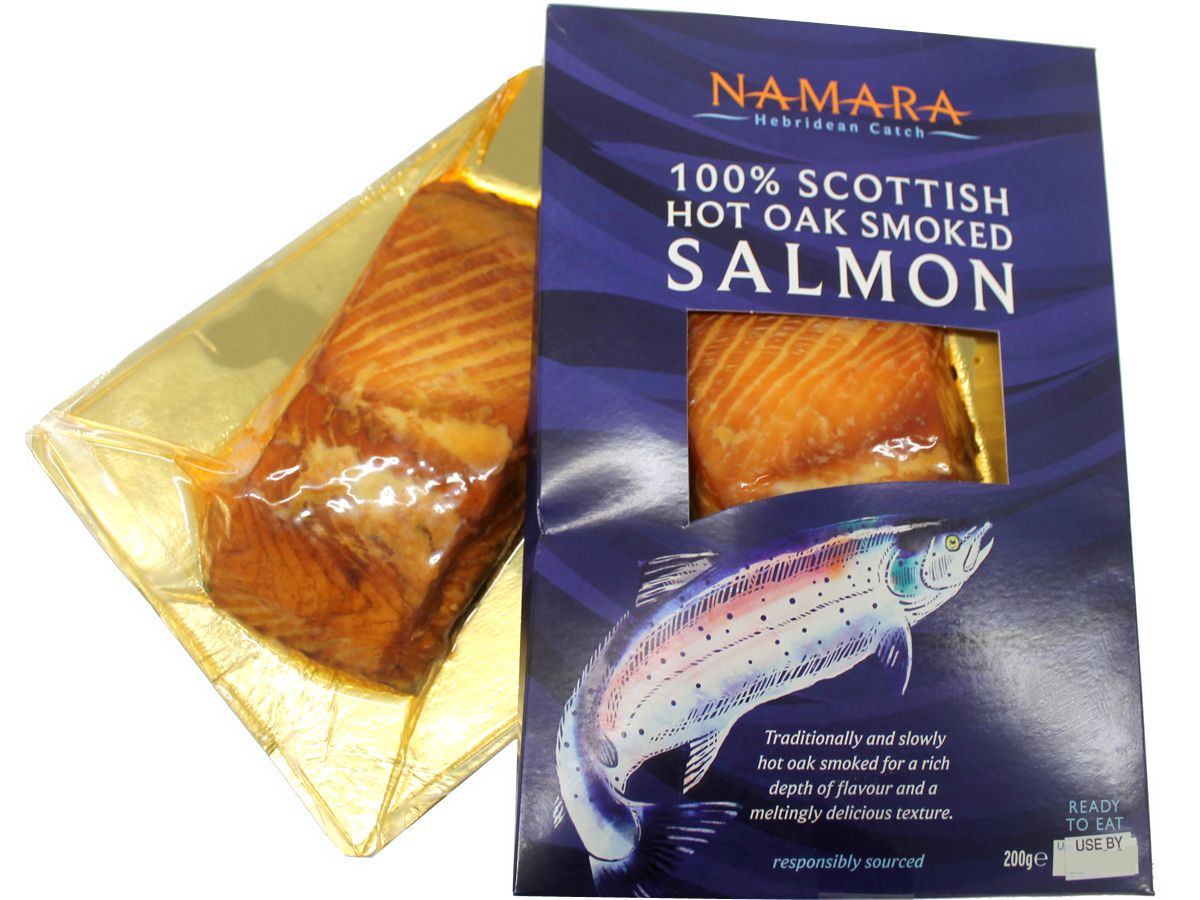 Hot Oak Smoked Salmon - 200g